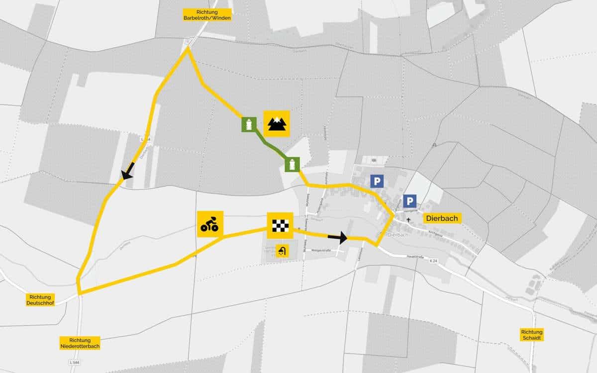 RSC Wörth Radrennen Dierbach