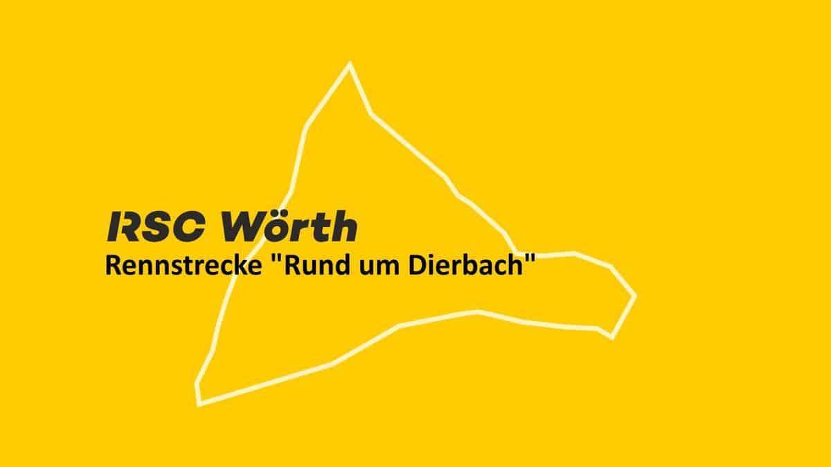 Rennstrecke Radrennen RSC Wörth in Dierbach